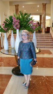 Charo invitada madrina Marina Criado
