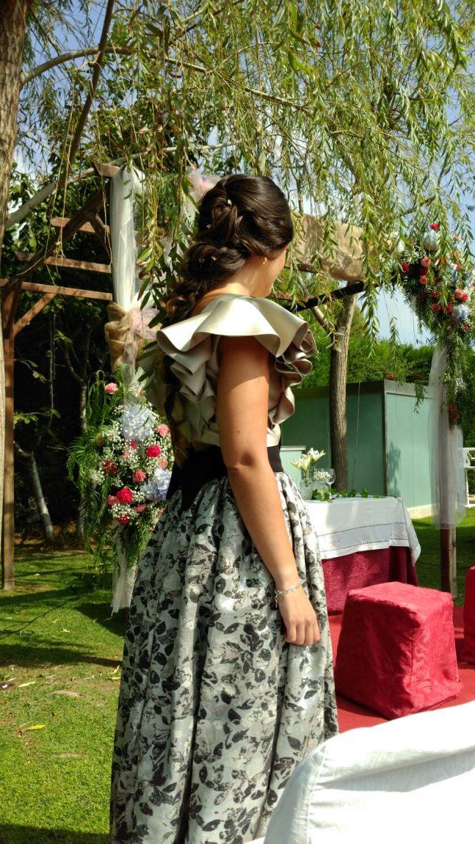 Nerea Ana invitada madrina Marina Criado