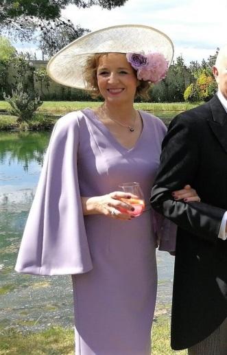 Teresa Invitada boda Madrina Marina Criado
